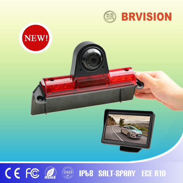 Chevy Express Rear View Backup Camera Built in Brake Light