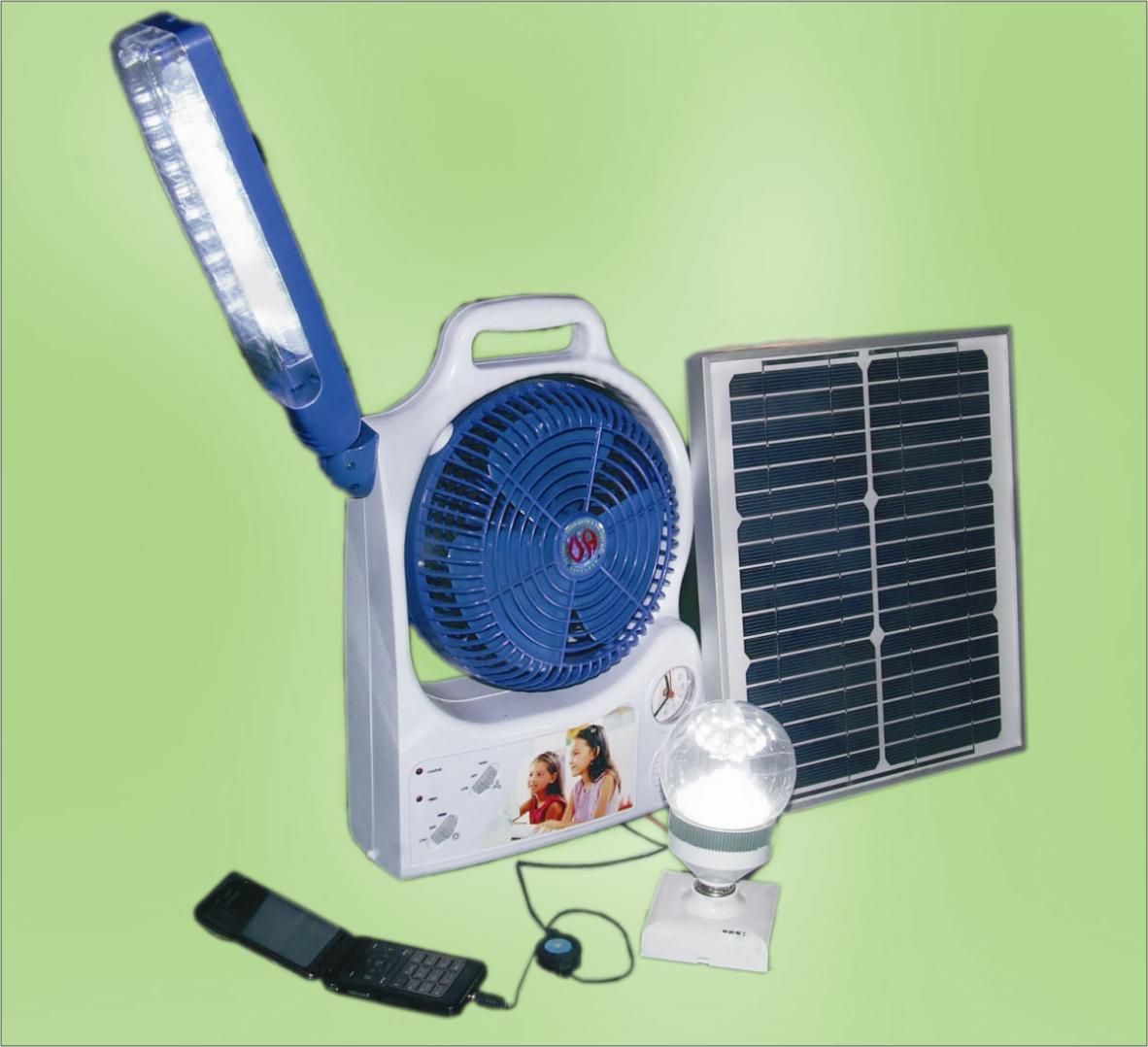 China Solar Fan With Lighting China Solar Fan Dc Fan
