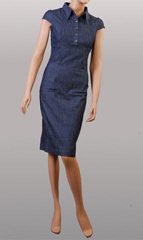 Dress Fashion on Ladies  Fashion Jeans Dress  Fe D1    China Denim Jeans  Leisure