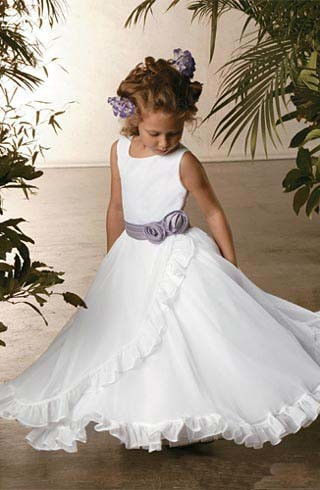 Wedding Flower Girl Dress KT4023