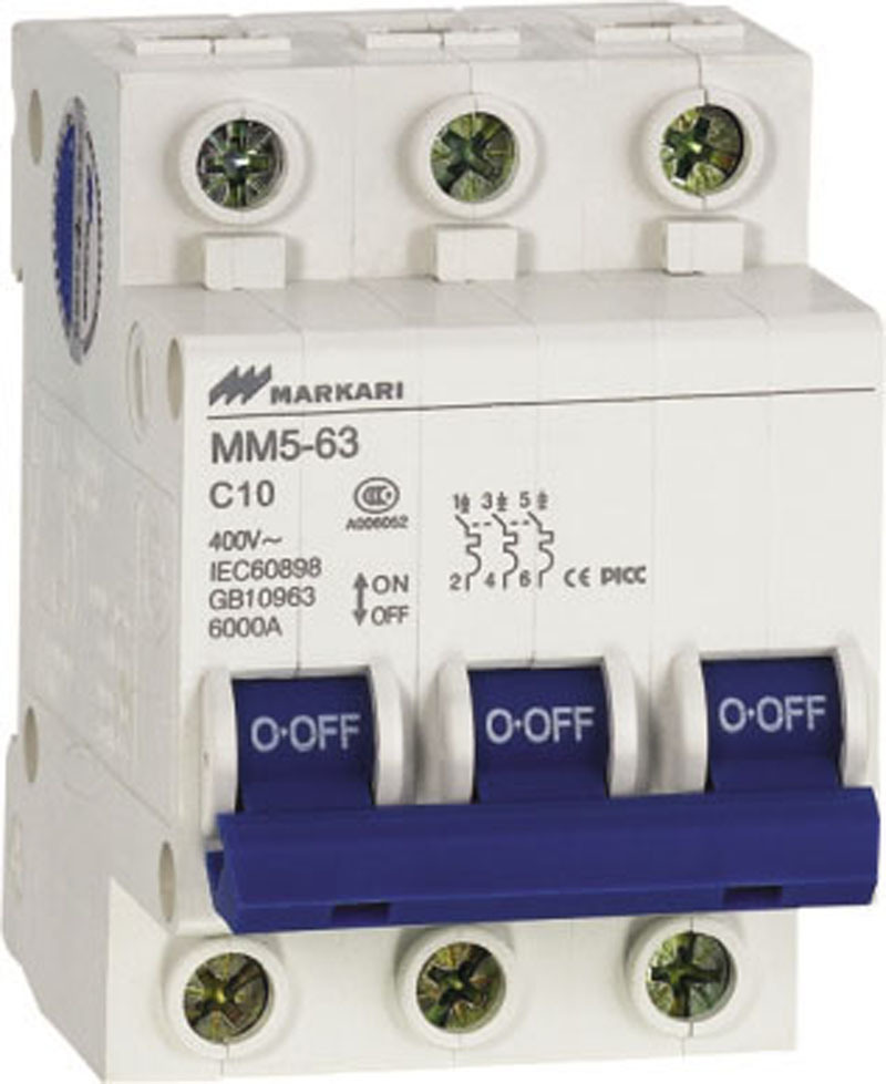 Mini Circuit Breaker (MM5-63-3P)