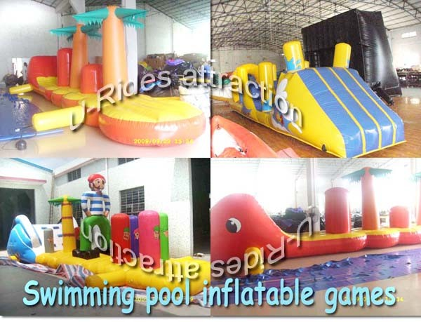 Swimming Pool Inflatable Game Photos Pictures