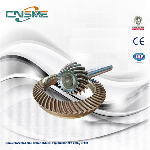Crusher Mining Machinery Parts Supplier Gear and Pinions