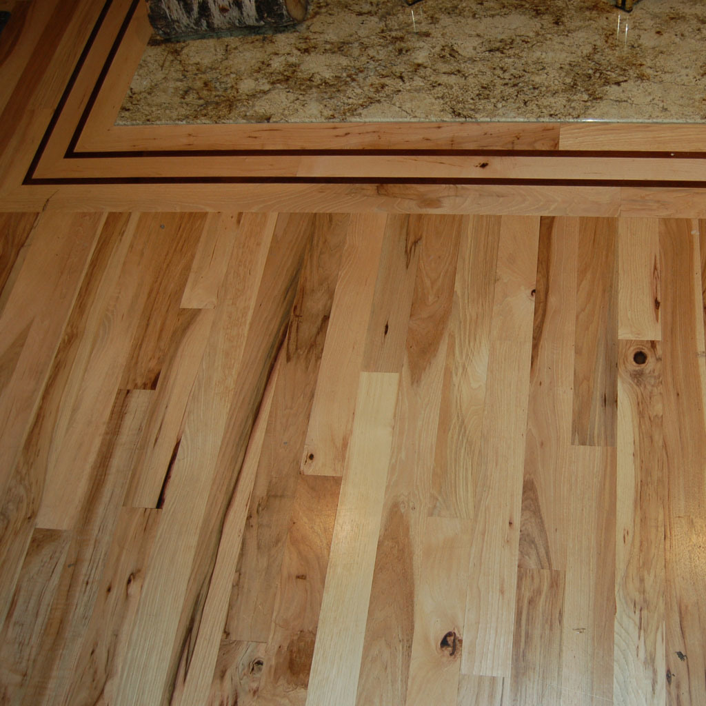 China hardwood u s hickory flooring china hickory for Hickory flooring