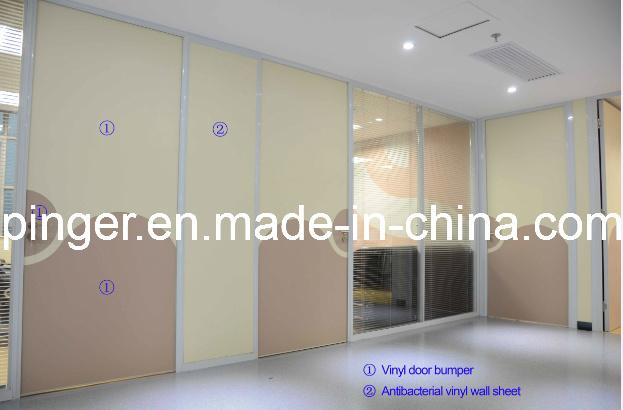 Hospital Decoration Wall Protectors Vinyl Sheet