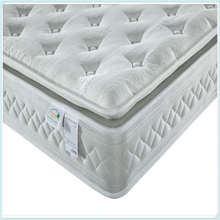 5 Star Hotel Natural Latex Euro Top Pocket Spring Mattress R25