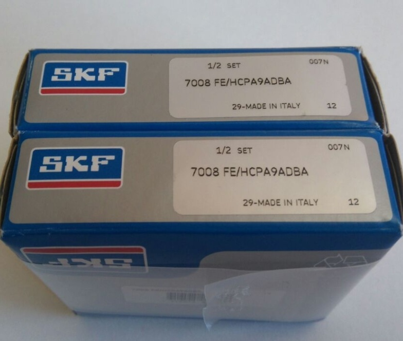 China Ceramic Ball 18 Degree Pair for Motor Angular Contact Ball Bearing SKF 7008fe/Hcpa9adba