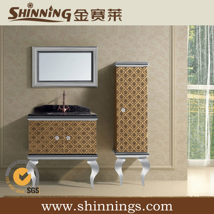 Stainless Steel Bathroom Cabinet (SS-043)