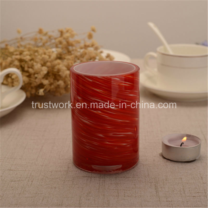 American Hospitality Handblown Glass Candle Holders