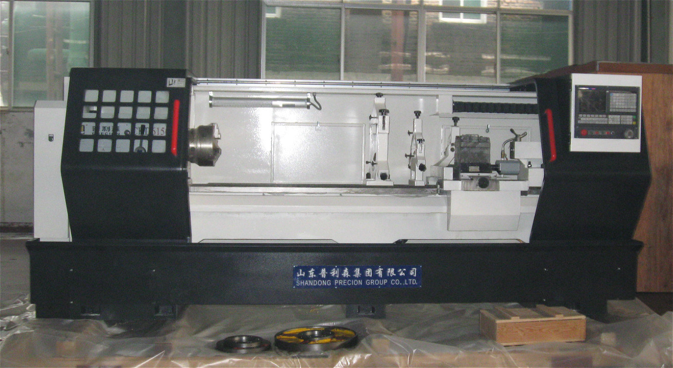 CNC Horizontal Lathe Dezhou Precion Brand