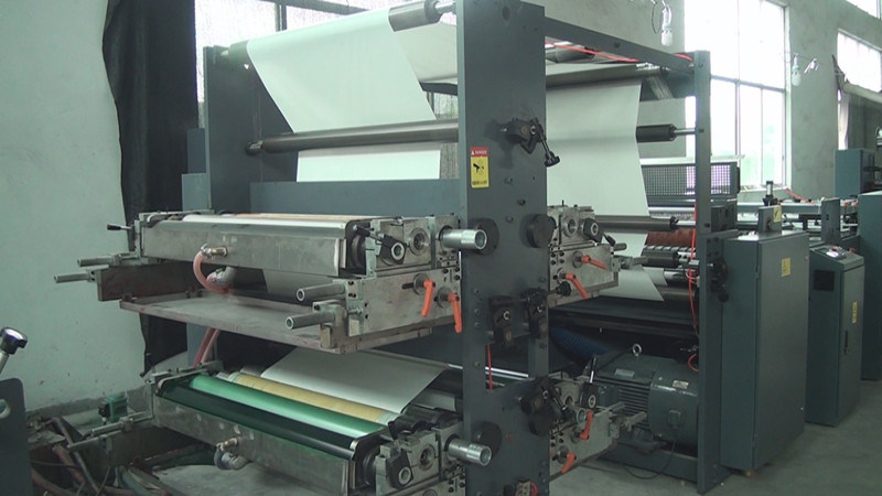 Full Automatic Flexo Printing and Saddle Stitch Notebook Production Line
