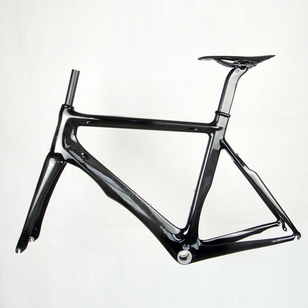 carbon fibre racing frame