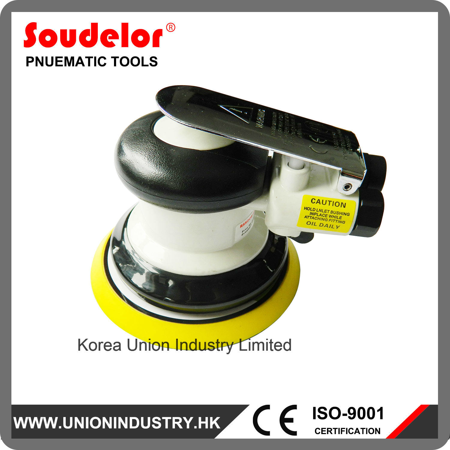 "Automotive Sander 5"" Air Polisher Car Orbital Sander"