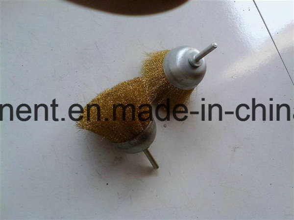 Steel Wire Brush with Wood Handle