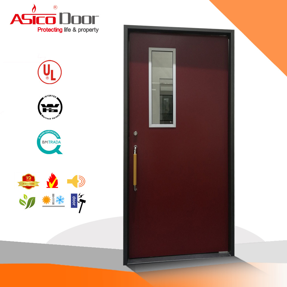 Fireproof Door Steel/Metal Fire Door with UL Certified Steel Door