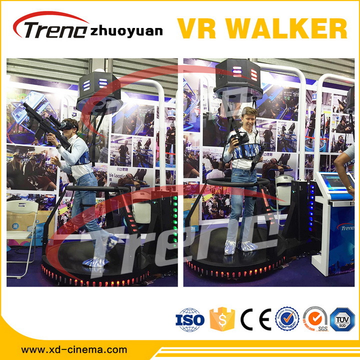 Top Sale Zhuoyuan Vr Treadmill Simulator