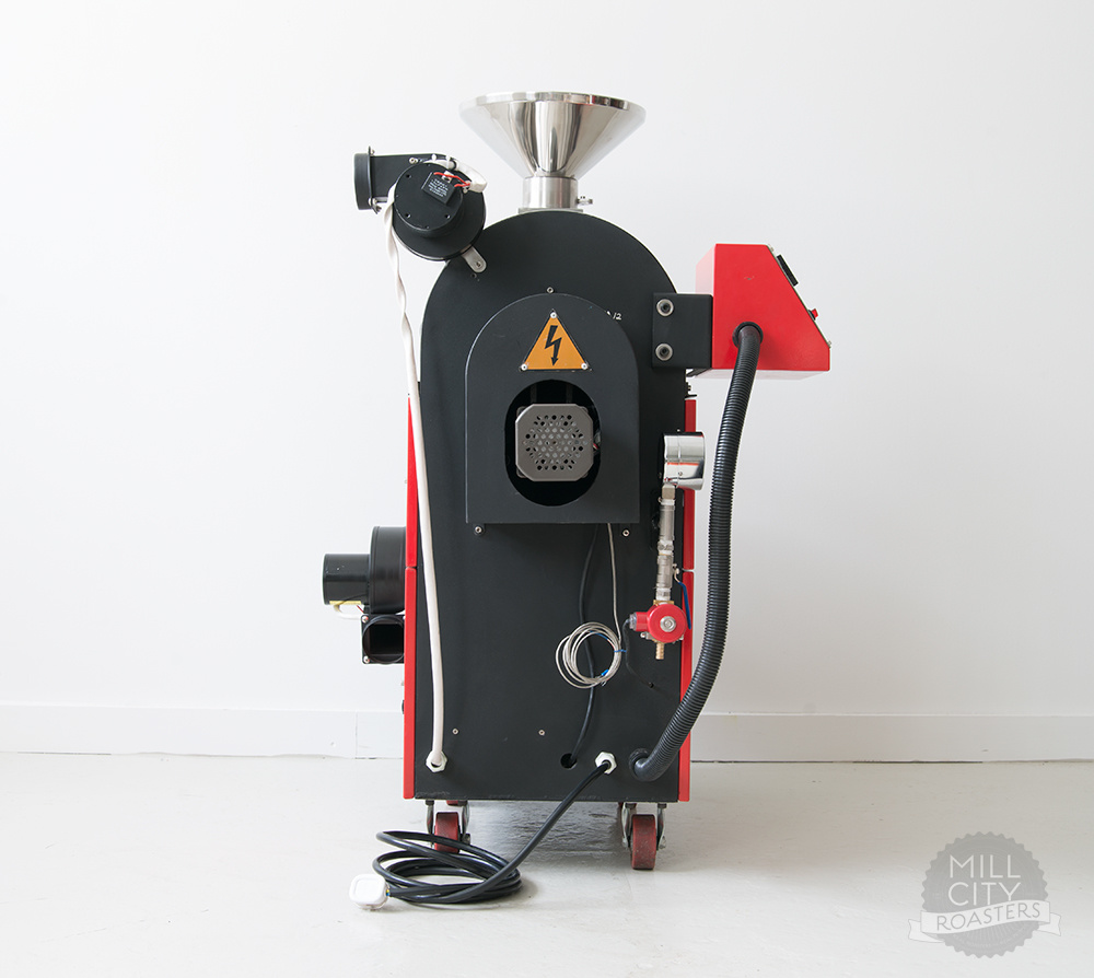 2kg Gas Coffee Roaster/4.4lb Coffee Roaster/2kg Coffee Roasting Machine