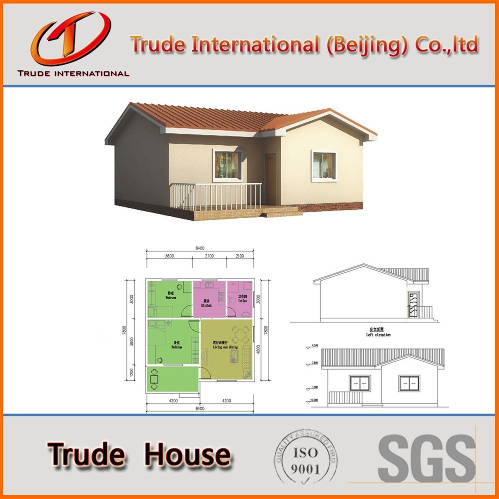 Customized Light Gauge Steel Structure Modular Building/Mobile/Prefab/Prefabricated Villa