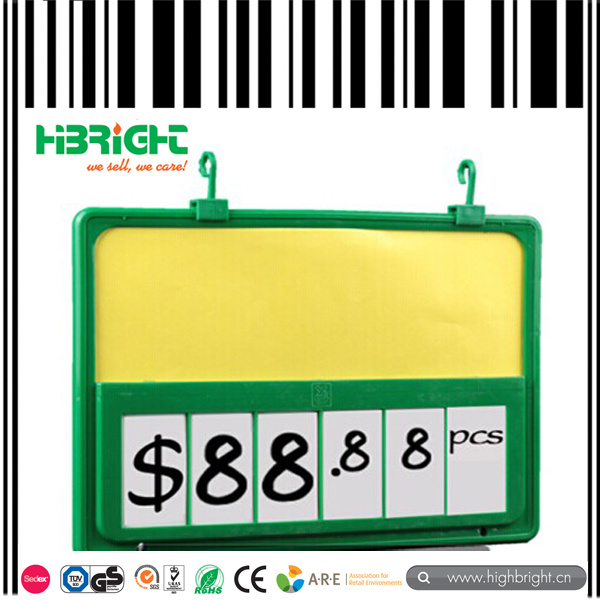 A4 Size Promotion Price Frame Display Tag 6 Digital