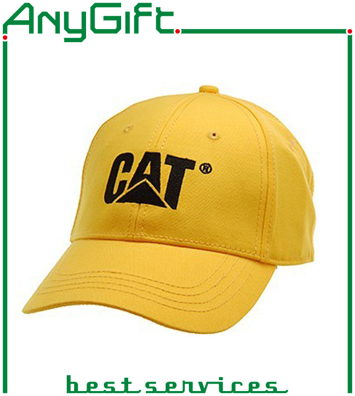 Cotton Baseball Cap with Customized Logo and Color