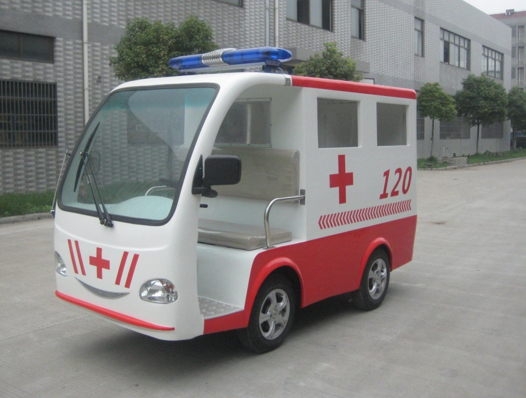 Small Size Electric Ambulance Applied in Very Narrow Roads (YMJ-T4)