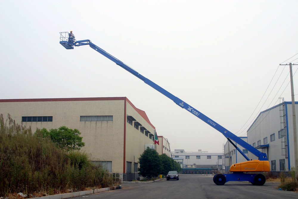 Image result for telescopic boom lift