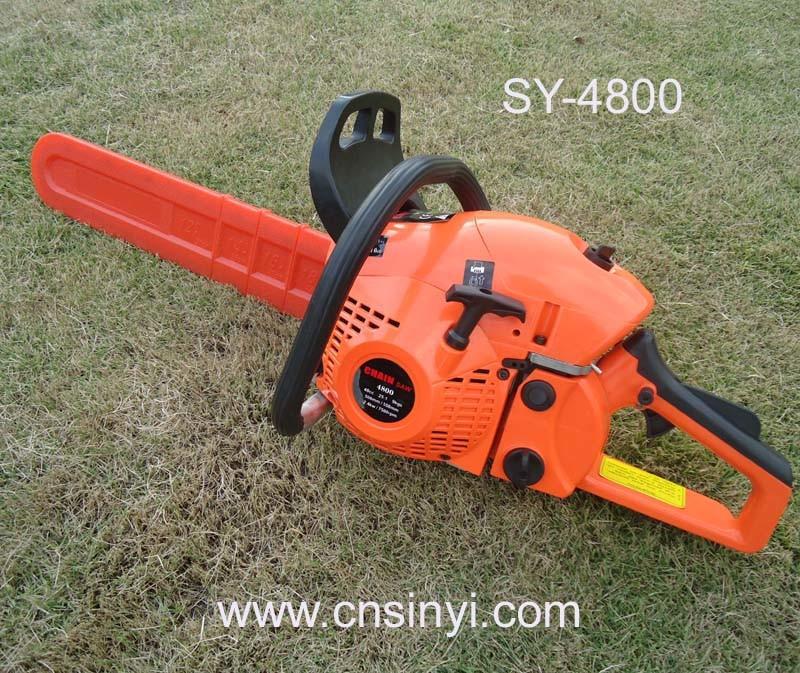 Gasoline Chain Saw 4800 (SY-4800) 48cc Chain Saw Garden Machine