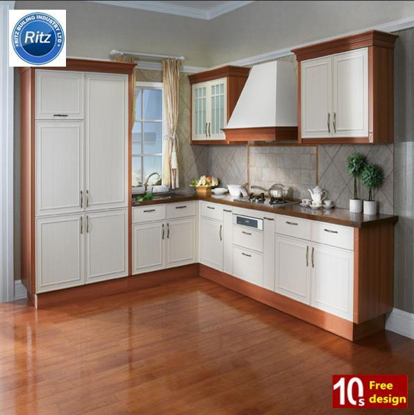 Kaka Pvc Kitchen Furniture: China PVC Kitchen Cabinet Home Furniture House Kitchen