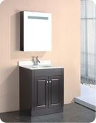 MDF Bathroom Cabinet with Espresso Painting