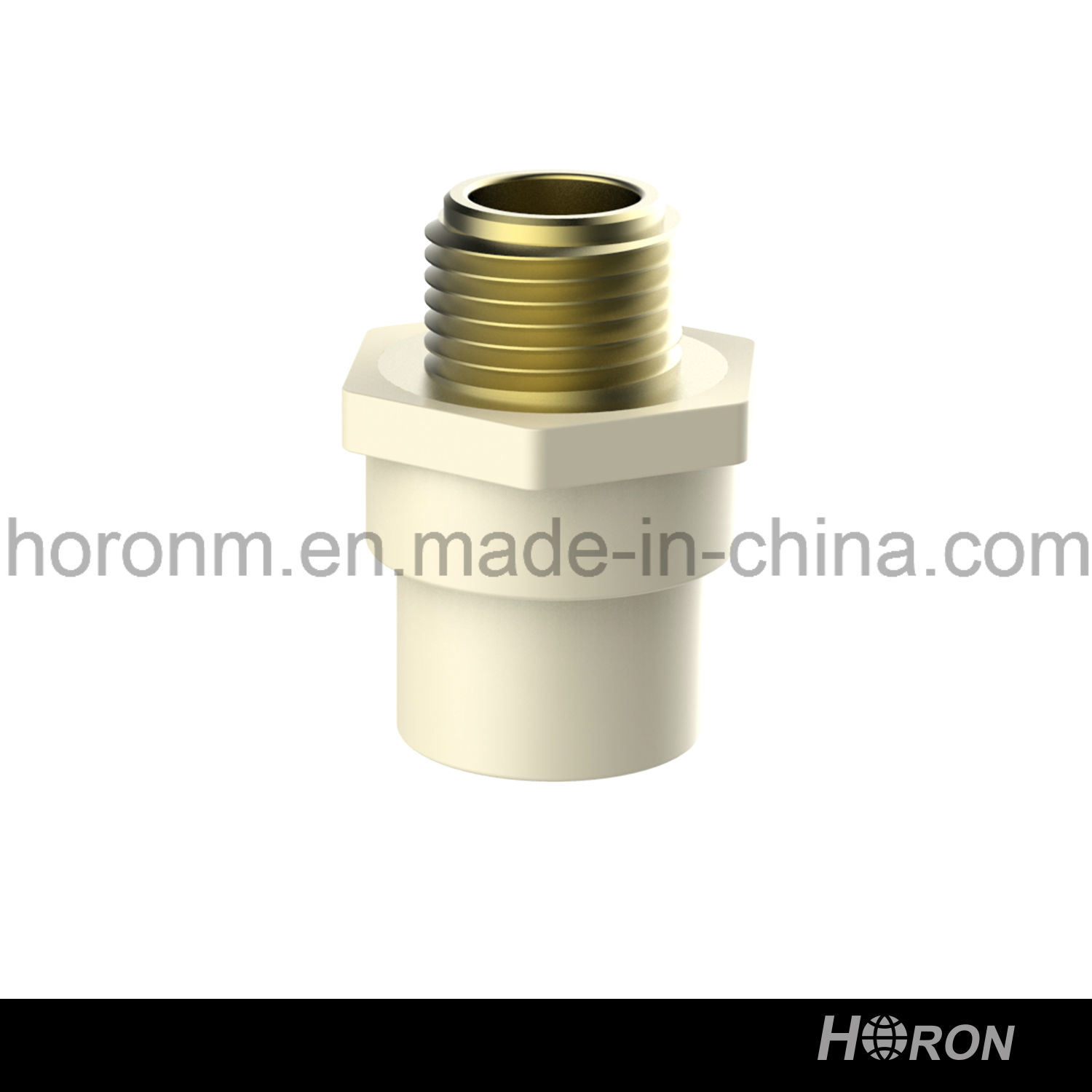 CPVC D2846 Water Pipe Fitting (MALE COUPLING)