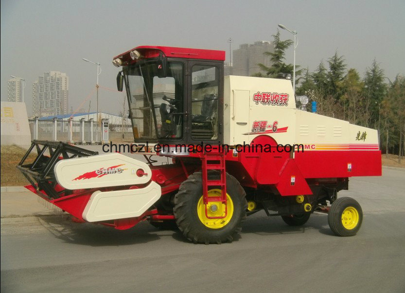 Wheel Type New Model Best Price of Mini Rice Harvest Machine