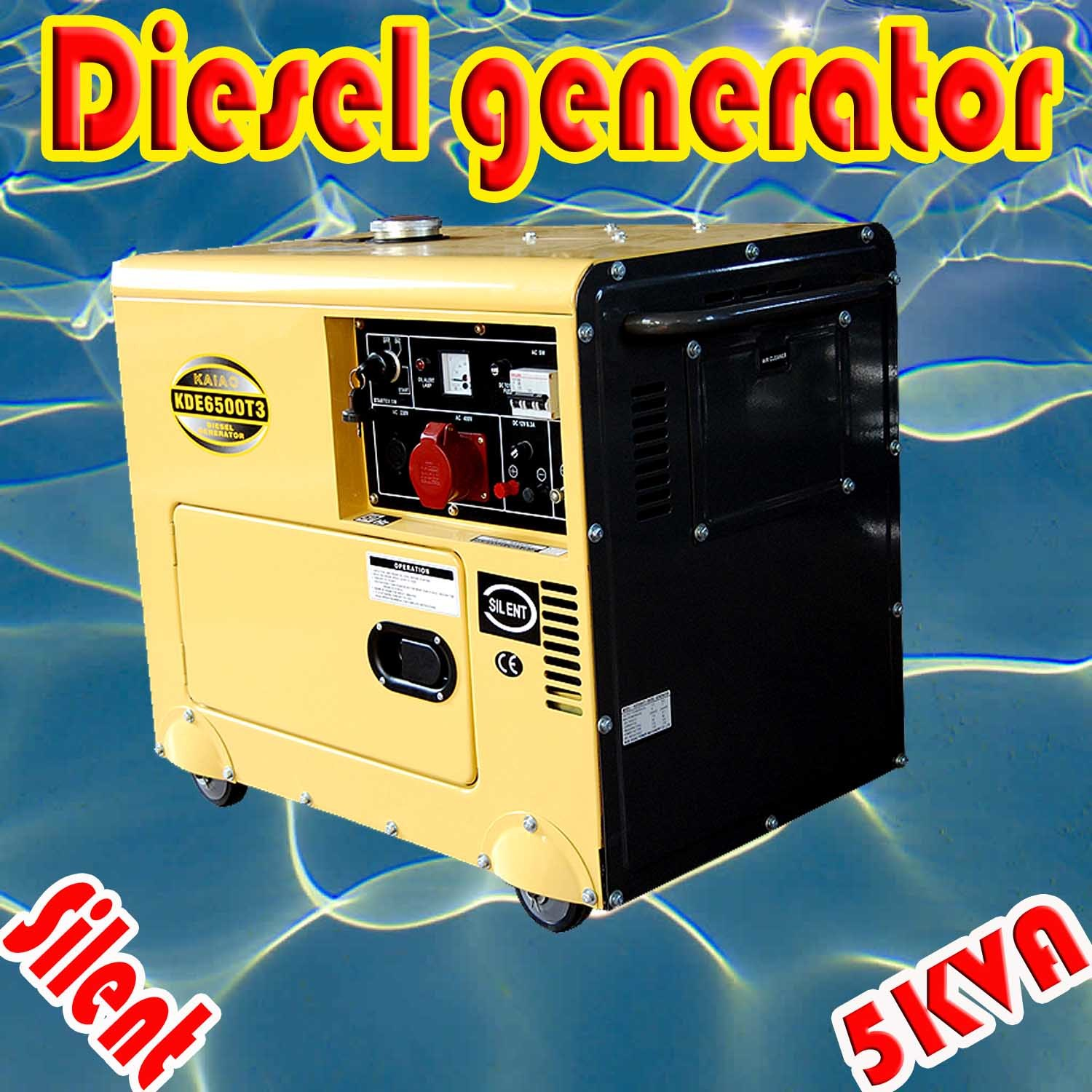 China 5kw Silent Diesel Generator for Home Use Top Quality and
