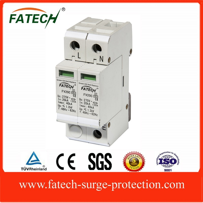 TUV CE approved 1 Phase 40kA Surge Protector