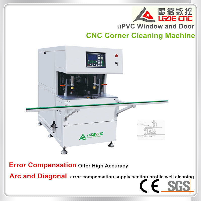 Corner Cleaning Machine with CNC Control System for PVC Window