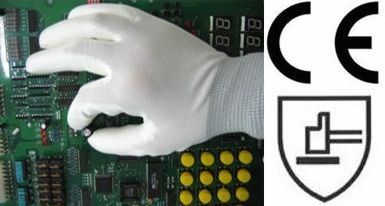 CE Certificated PU Coated Glove (ST3010)
