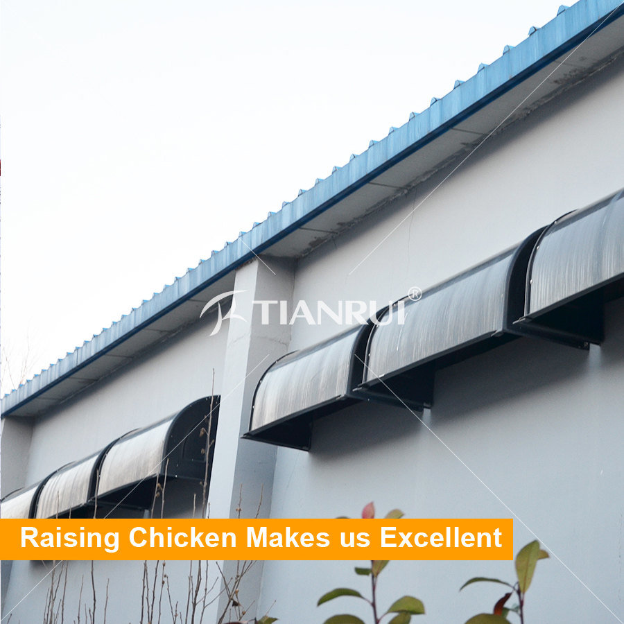 Tianrui Automatic Poultry Environment Control Shed Equipment for sale