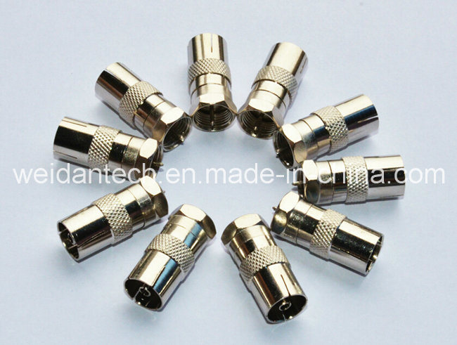 Coaxial Adapter PAL Female to F Male Connector (WD20A-018)