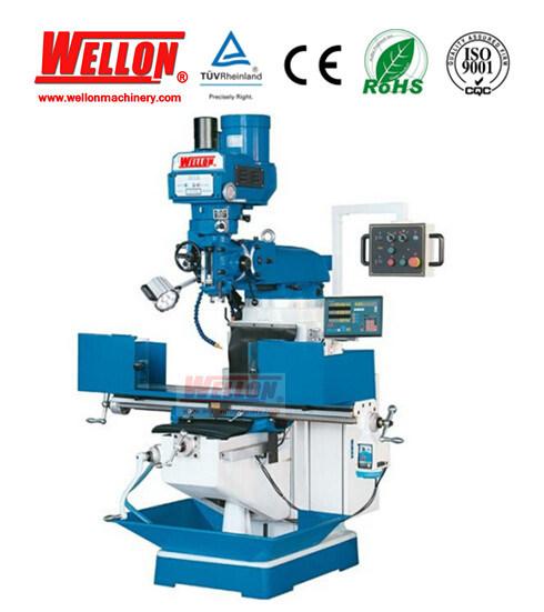 Turret Milling Machine (Universal Milling machine X6325 X6330 X6333)