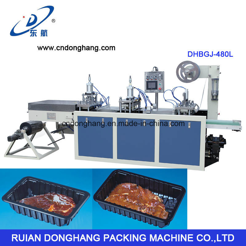 Touch Screen Plastic Fast Food Container Forming Machine (DHBGJ-480L)