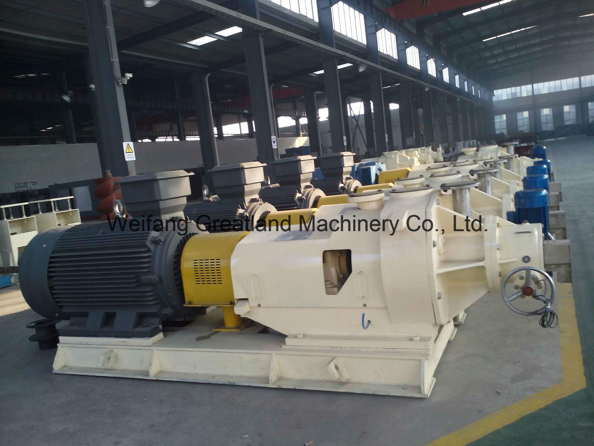 380/450mm High Consistency Refiner Pulping Equipment Paper Mill Refiner