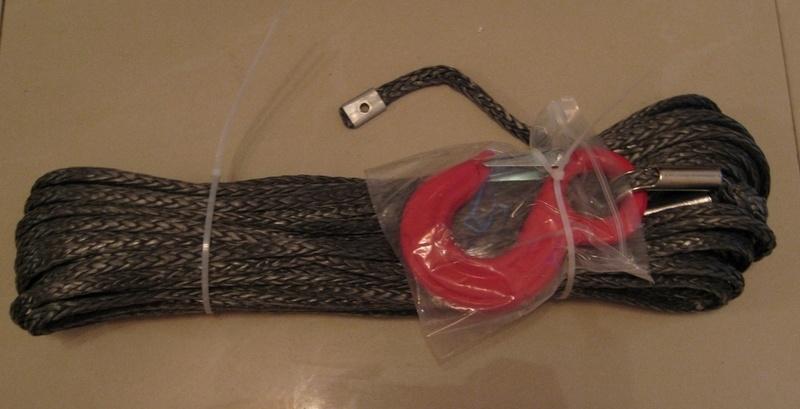 Dyneema Winch Rope with Lug/Eyelet/ Sleeve/ Hook/Tube Thimble (DWR)