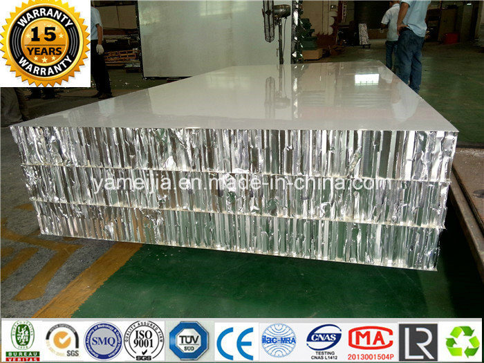 25mm Thick Decorative Aluminum Honeycomb Panels Honeycomb Sandwich Panels for External Wall Claddings
