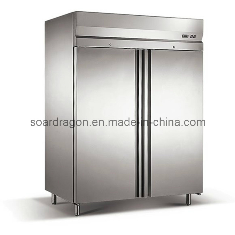 4 Doors Stainless Steel Kitchen Refrigerator for Food Storage (D1.0L4D)
