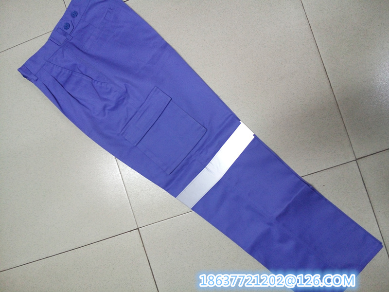 Work Pants with Reflevtive Tapes