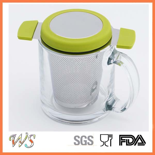 Ws-If002 Tea Infuser Stainless Steel Tea Filter Mug Cup Tea Strainer