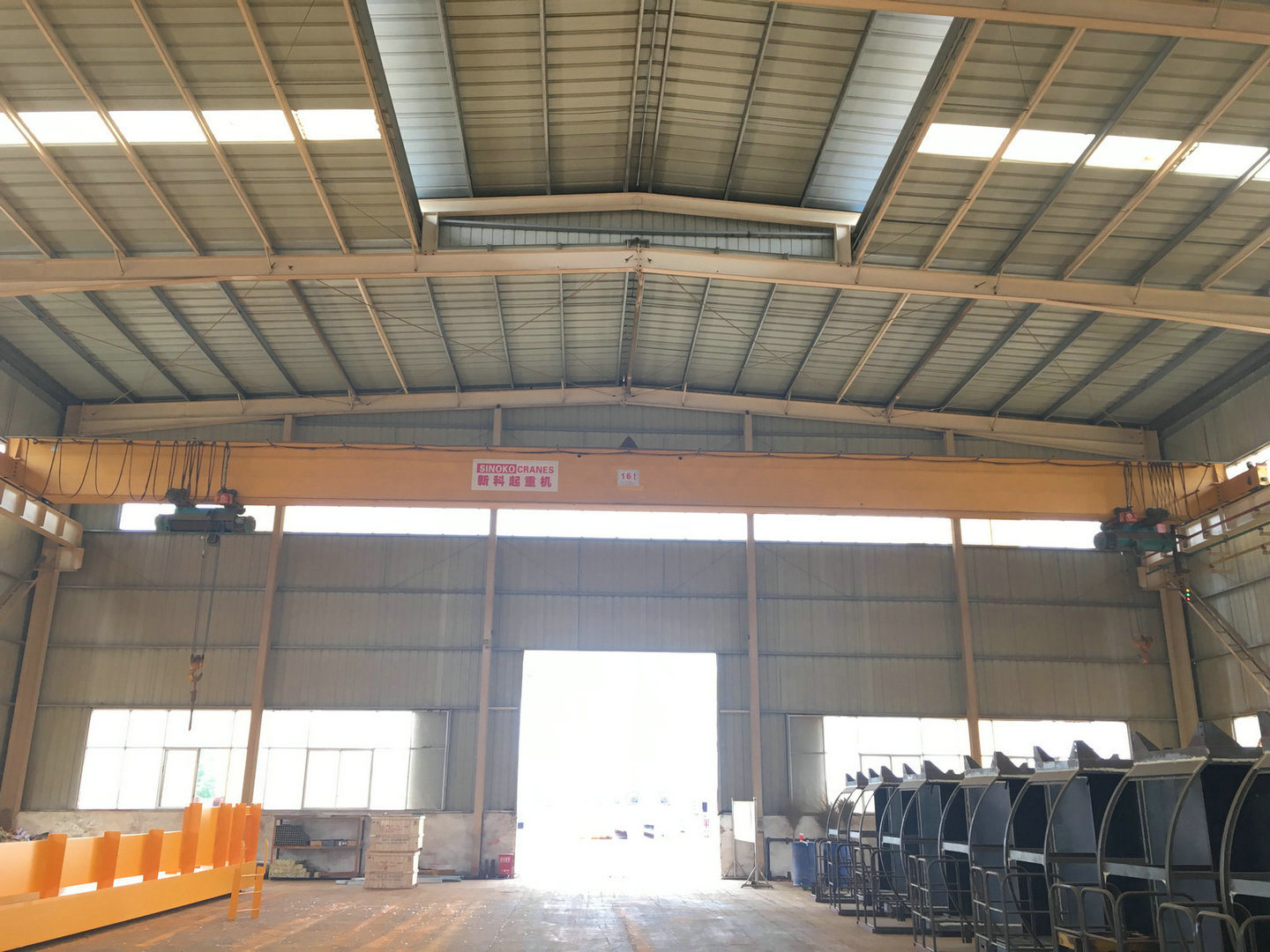 5ton 10ton 15ton 20ton Single Girder Overhead Crane with Electric Hoist