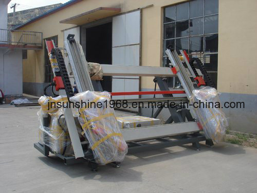 Aluminum Four Head Corner Crimping Machine for Aluminum Making Machine