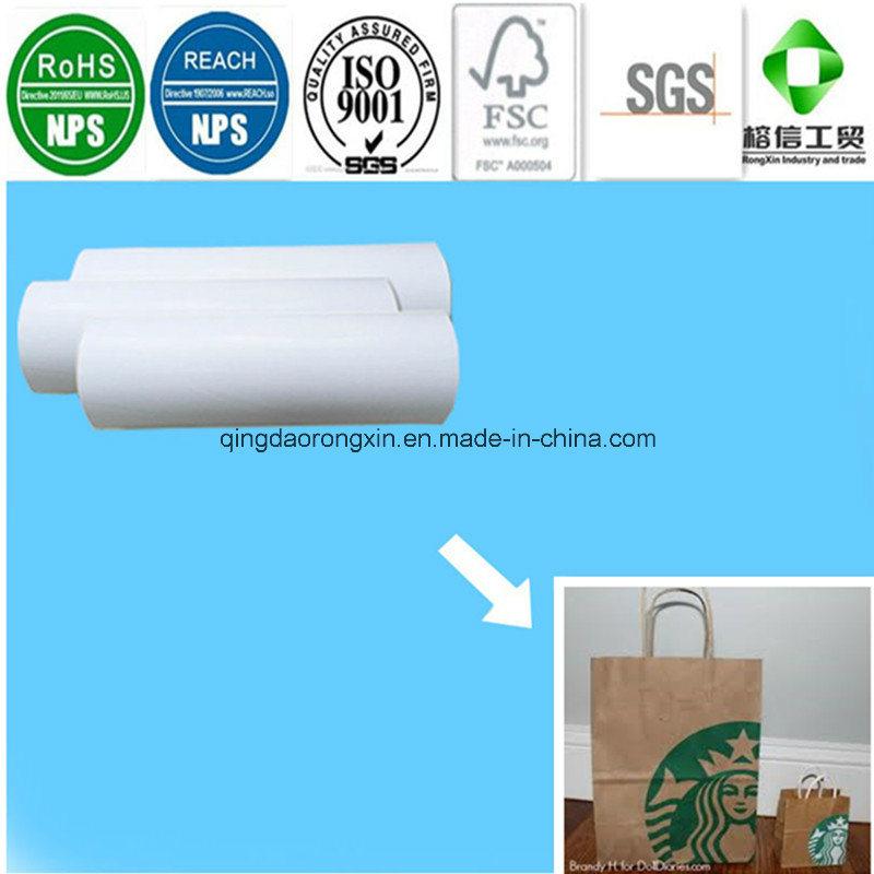 PE Coated Paper for Starbucks Kraft Packaging Bag