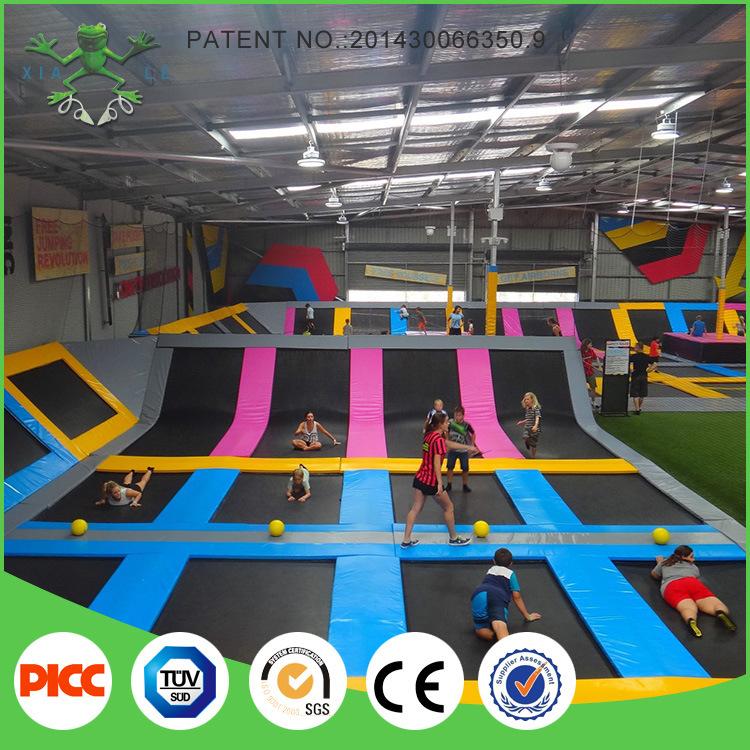 Olympic Standard Building Indoor Trampoline Park