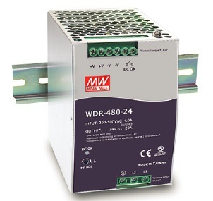WDR-480 High Input DIN Rail